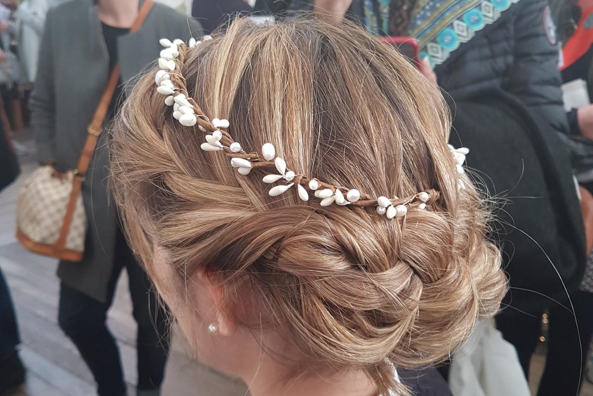 Blog coiffure mariage accessoiriser le chignon tress - Coiffure mariage tresse ...