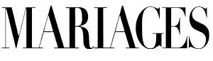 Logo Mariages magazine