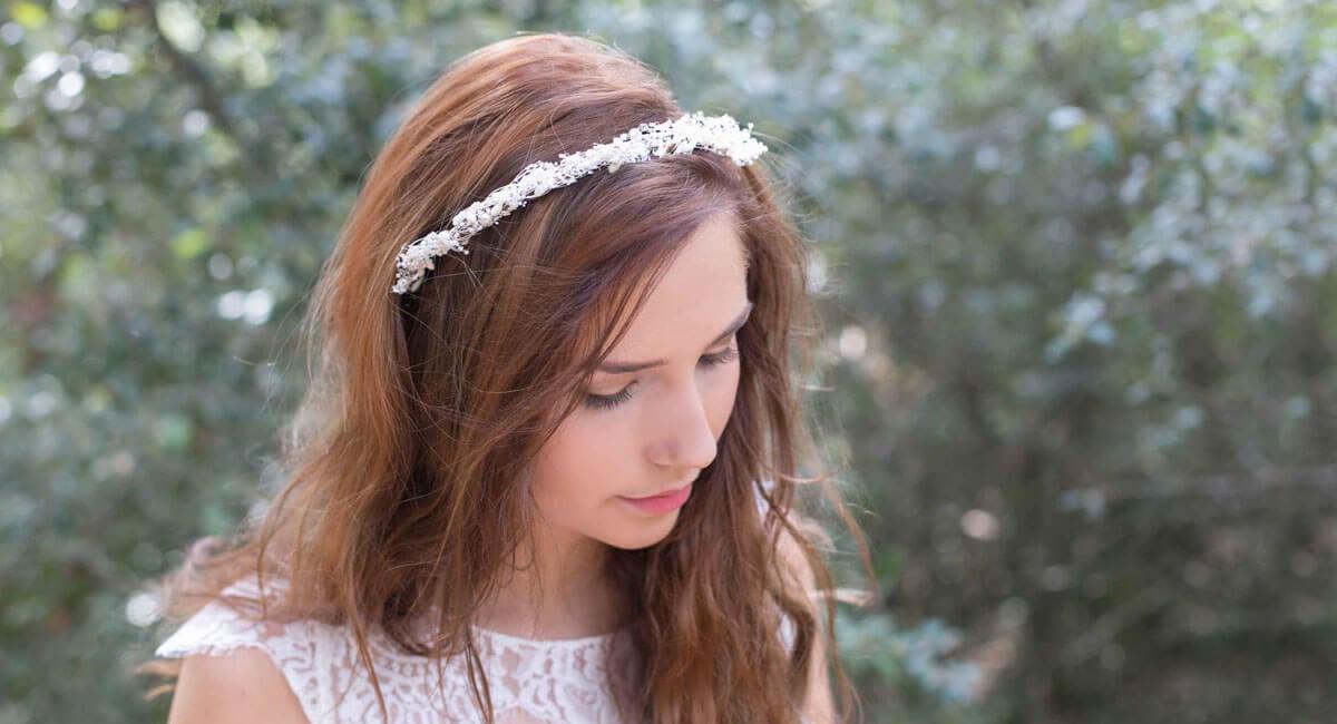 English Garden Couronnes De Fleurs Bijoux Et Accessoires De Mariage