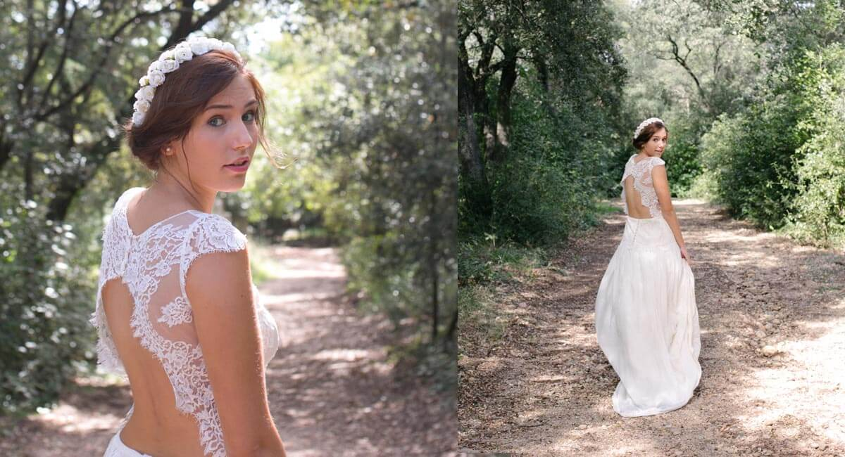 English garden couronnes de fleurs bijoux et accessoires de mariage - Headband mariage boheme ...